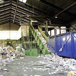 Industrie du recyclage