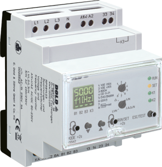 Measuring relays for power generation systems