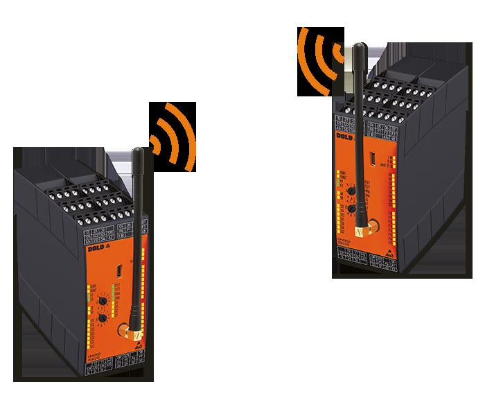 Funk-Sicherheitssystem Paarbetrieb